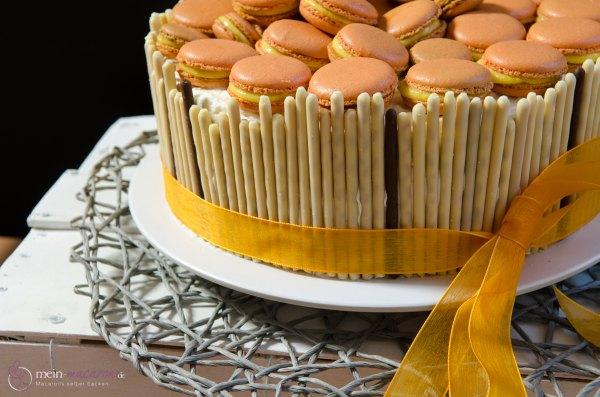 macarons mit pfirsichcreme macarons rezepte zum selber backen. Black Bedroom Furniture Sets. Home Design Ideas