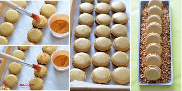 macarons mit nougat ganache macarons rezepte zum selber backen. Black Bedroom Furniture Sets. Home Design Ideas