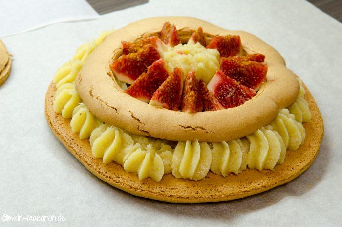 macaron torte mit mandelcreme ganache macarons rezepte zum selber backen. Black Bedroom Furniture Sets. Home Design Ideas
