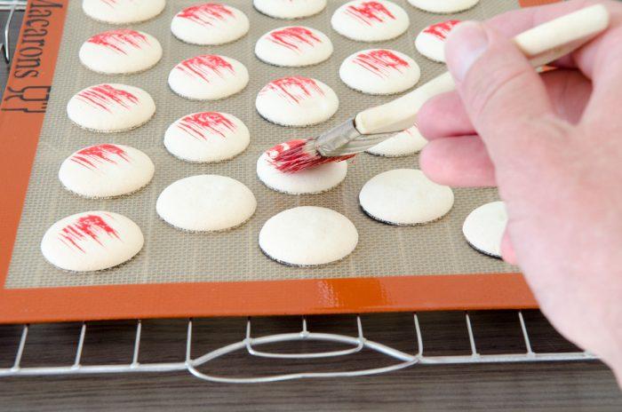macarons marshmallows und erdbeeren macarons bunt und lecker. Black Bedroom Furniture Sets. Home Design Ideas