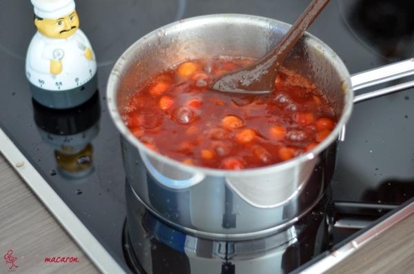 marmelade aus roten wilden mirabellen macarons bunt und lecker. Black Bedroom Furniture Sets. Home Design Ideas