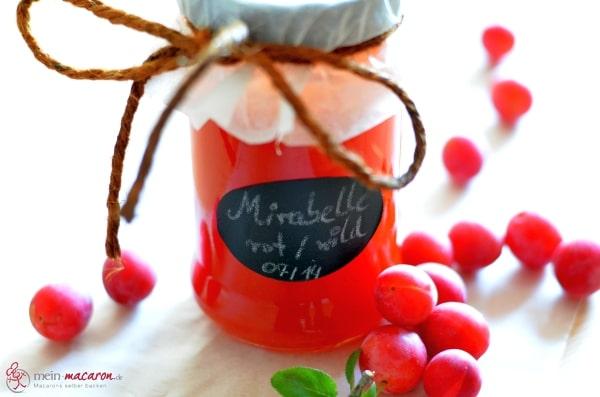 marmelade aus roten wilden mirabellen macarons rezepte zum selber backen. Black Bedroom Furniture Sets. Home Design Ideas