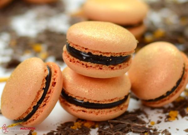 macarons mit orangen karamell ganache macarons rezepte zum selber backen. Black Bedroom Furniture Sets. Home Design Ideas