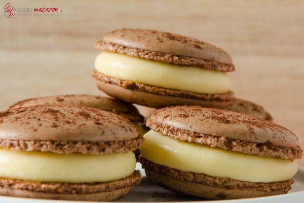 tiramis macarons hmm tiramis macarons macarons rezepte zum selber backen. Black Bedroom Furniture Sets. Home Design Ideas