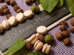 walnuss macarons mit walnusskrokant macarons rezepte zum selber backen. Black Bedroom Furniture Sets. Home Design Ideas