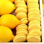 ananas macarons a la pina colada macarons rezepte zum selber backen. Black Bedroom Furniture Sets. Home Design Ideas