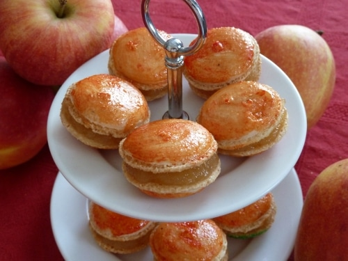 macarons mit apfelf llung macarons rezepte zum selber backen. Black Bedroom Furniture Sets. Home Design Ideas